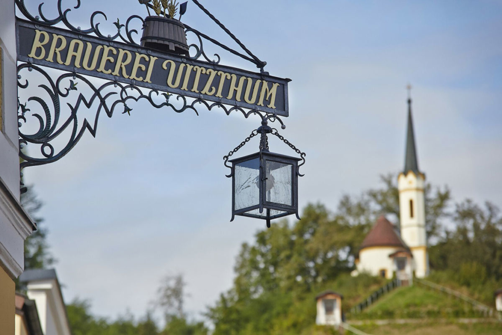 "The Brauerei Gasthof Vitzthum is the best beer pub in Austria according to the gastronomic guide ""Tafelspitz""."