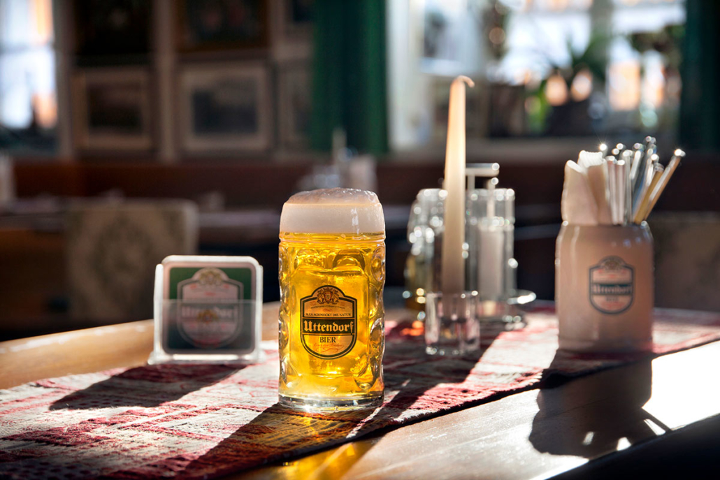 More than 400 years of beer culture are contained in Uttendorf beer.